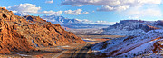 Moab Fault Panorama Print by Adam Jewell