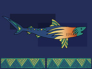 Hawaiian Fish Digital Art Prints - Moana Ola 9 Print by Douglas Fischer