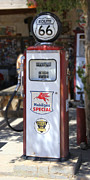 Strong Vertical Images Prints - Mobilgas Special - Tokheim Pump Print by Mike McGlothlen