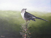 Mockingbird Paintings - Mockingbird by Mark Roberts