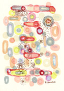 Regina Valluzzi Metal Prints - Mod Ala Mode Metal Print by Regina Valluzzi