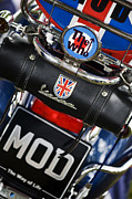 Union Jack Photos - Mod Vespa by Tim Gainey