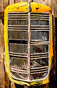 Gold Mine Photos - Model EG Mack Truck Grill by  Onyonet  Photo Studios