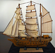 Dan De Ment - Model Sailing Ship