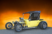 Ford Model T Car Posters - Model T Roadster Pick Up I Poster by Dave Koontz