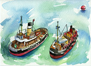 Lydia Irving - Model Tug Boats