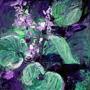 Ginette Callaway - Modern Abstract Hostas