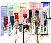 Modern Avenue Print by Bri Buckley