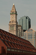 Boston Ma Prints - Modern Boston Print by Paul Mangold