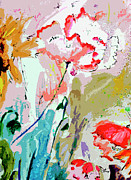 Ginette Fine Art LLC Ginette Callaway - Modern Decorative Expressive Flowers