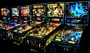 Vintage Video Game Framed Prints - Modern Machines Framed Print by Benjamin Yeager