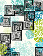 Pattern Art - Modern Morocco - cool by Khristian Howell
