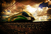 Industry Art - Modern train transportation by Photocreo Michal Bednarek