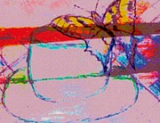 Modified Butterfly Cup Print by M and L Creations Art Craft Boutique
