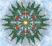 Snowflake Originals - Modified tree snowflake by Eric Fronapfel