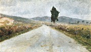 Tuscan Road Prints - Modigliani, Amedeo 1884-1920. The Print by Everett