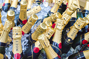 Champagne Photos - Moet on Ice by Steve Myrick