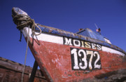Ropes Prints - Moises the Fishing Boat Print by James Brunker
