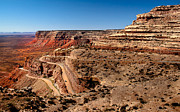 Gravel Road Photos - Moki Dugway by Robert Bales