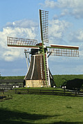 Flevoland Framed Prints - Molen Framed Print by Roderick Bley