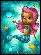 Mermaids Digital Art - Molly by Mandie Manzano