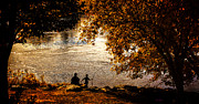 Fall Leaves Prints - Moments To Remember Print by Bob Orsillo