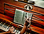 Piano Prints - Mommas Hymnal Print by Robert Frederick