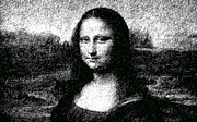 Mike Cartwright - Mona Lisa in Gray scale