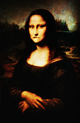 Da Vinci Mixed Media - Mona Lisa Take One by Bill Cannon