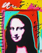 Decorating Mixed Media - Mona Lisa by Venus Art