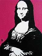 Decorating Mixed Media - Mona Lisa by Venus