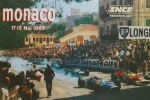 Motor Metal Prints - Monaco 1969 Metal Print by Nomad Art And  Design