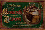 Jq Painting Prints - Monarch Tavern Print by JQ Licensing