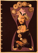 Mona's Bible No.30 Print by Elena Fattakova
