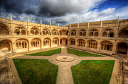 Nigel Hamer Prints - Monastery dos Jeronimos Cloisters Print by Nigel Hamer