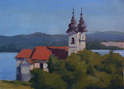 Memories Of Vacation Posters - Monastery of Tihany Poster by Viktoria K Majestic