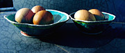 Still Life Photographs Posters - Monday Morning Blues Poster by Ann Powell