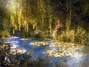 Dewinter Prints - Monet after Midnight Print by RC deWinter