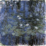 Eure Prints - Monet, Claude 1840-1926. Blue Print by Everett