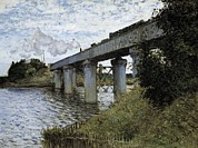 Technical Photo Prints - Monet, Claude 1840-1926. The Railway Print by Everett