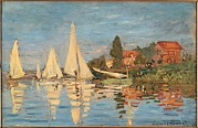 Mondjulygp1 Art - Monet Claude, Regatta At Argenteuil by Everett