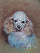Commissions Pastels Posters - Monique Poster by Cynthia Riley