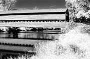 Ir Posters - Mono Bridge Poster by Paul W Faust -  Impressions of Light