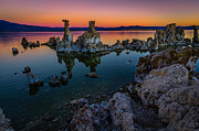 Mono Lake Framed Prints - Mono Lake California Sunrise Framed Print by Scott McGuire