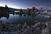 Outdoor Photographs Framed Prints - Mono Lake Reflected Framed Print by Kurt Golgart