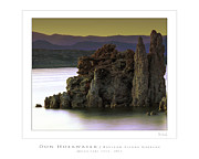 Tufa Posters - Mono Lake Tufa Poster by HoekPhoto PhotoWorks by Don Hoekwater