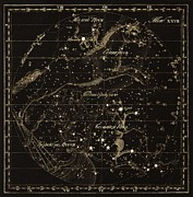 Monoceros Constellations, 1829 Print by Science Photo Library