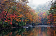 Fall Digital Art Prints - Monongahela National Forest Print by Thomas R Fletcher