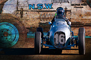 Racing Car Photographs Framed Prints - Monoskate Front View Framed Print by Stuart Row