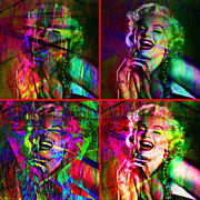 Royalty Digital Art - Monroe 20130618 Four Squares by Wingsdomain Art and Photography